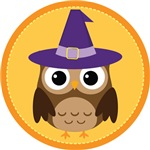 Halloween Witch Owl Party Gifts and  Shirts