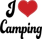 I Heart Camping T-shirts and Gifts
