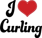 I Heart Curling T-shirts and Gifts