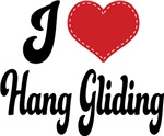 I Heart Hang Gliding T-shirts and Gifts