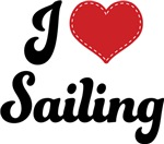 I Heart Sailing T-shirts and Gifts