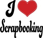 I Heart Scrapbooking T-shirts and Gifts