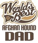 Afghan Hound Dad (Worlds Best) T-shirts