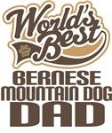 Bernese Mountain Dog Dad (Worlds Best) T-shirts