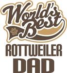Rottweiler Dad (Worlds Best) T-shirts