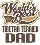 Tibetan Terrier Dad (Worlds Best) T-shirts