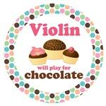 VIOLIN MOD DOT MUSIC GIFTS AND TEES