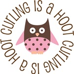 CURLING IS A HOOT OWL TEES AND GIFTS
