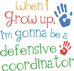 Future Defensive Coordinator Kids T-shirts