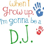 Future D.J. Kids T-shirts
