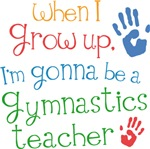 Future Gymnastics Teacher Kids T-shirts