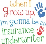 Future Insurance Underwriter Kids T-shirts