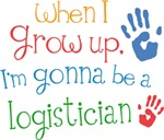Future Logistician Kids T-shirts