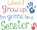 Future Senator Kids T-shirts