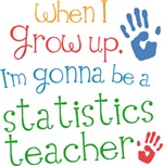 Future Statistics Teacher Kids T-shirts