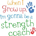 Future Strength Coach Kids T-shirts