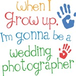 Future Wedding Photographer Kids T-shirts