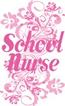 School Nurse (Pink Swirl) Gifts