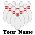 Personalized Bowling T-shirts and Gifts