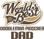Doodleman Pinscher Dad (Worlds Best) T-shirts