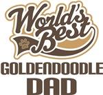 Goldendoodle Dad (Worlds Best) T-shirts