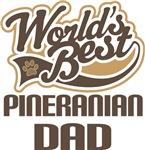 Pineranian Dad (Worlds Best) T-shirts