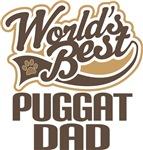 Puggat Dad (Worlds Best) T-shirts