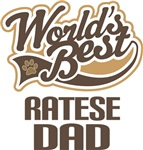 Ratese Dad (Worlds Best) T-shirts