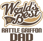 Rattle Griffon Dad (Worlds Best) T-shirts