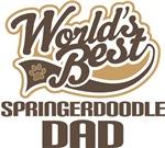 Springerdoodle Dad (Worlds Best) T-shirts