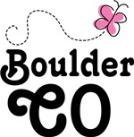 Boulder Colorado Butterfly T-shirts and Hoo