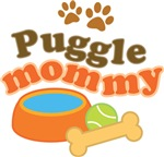 Puggle Mommy Pet Mom Gifts and T-shirts
