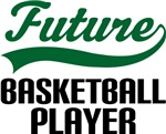 Future Basketball Player Kids T Shirts
