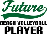 Future Beach Volleyball Player Kids T Shirts