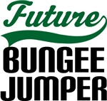Future Bungee Jumper Kids T Shirts