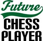 Future Chess Player Kids T Shirts