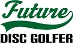 Future Disc Golfer Kids T Shirts
