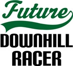 Future Downhill Racer Kids T Shirts