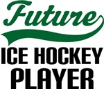Future Ice Hockey Player Kids T Shirts