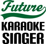 Future Karaoke Singer Kids T Shirts