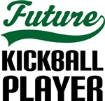 Future Kickball Player Kids T Shirts