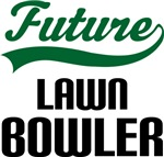 Future Lawn Bowler Kids T Shirts