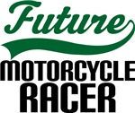 Future Motorcycle Racer Kids T Shirts