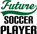 Future Soccer Player Kids T Shirts