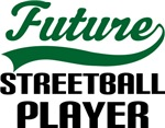 Future Streetball Player Kids T Shirts