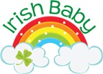 Irish Baby St Paddys Day rainbow