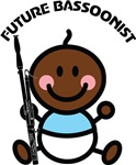 Future Bassoonist Baby T Shirts