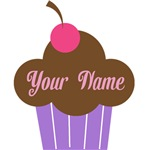 Personalized Chocolate Cupcake T-shirts