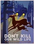 Wild Life WPA Poster