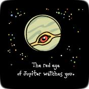 Red Eye of Jupiter